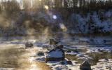零下40度不结冰不不冻河属于哈拉哈河的一段