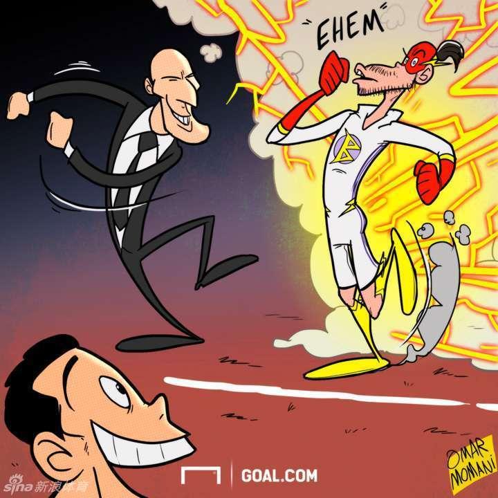 著名足球网站Goal.com用一组趣味漫画对2月份的国际足坛进行了回顾,这些漫画,你能看懂其中的几张?