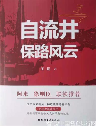 钟永新:四川知名作家王锐《自流井保路风云》出版