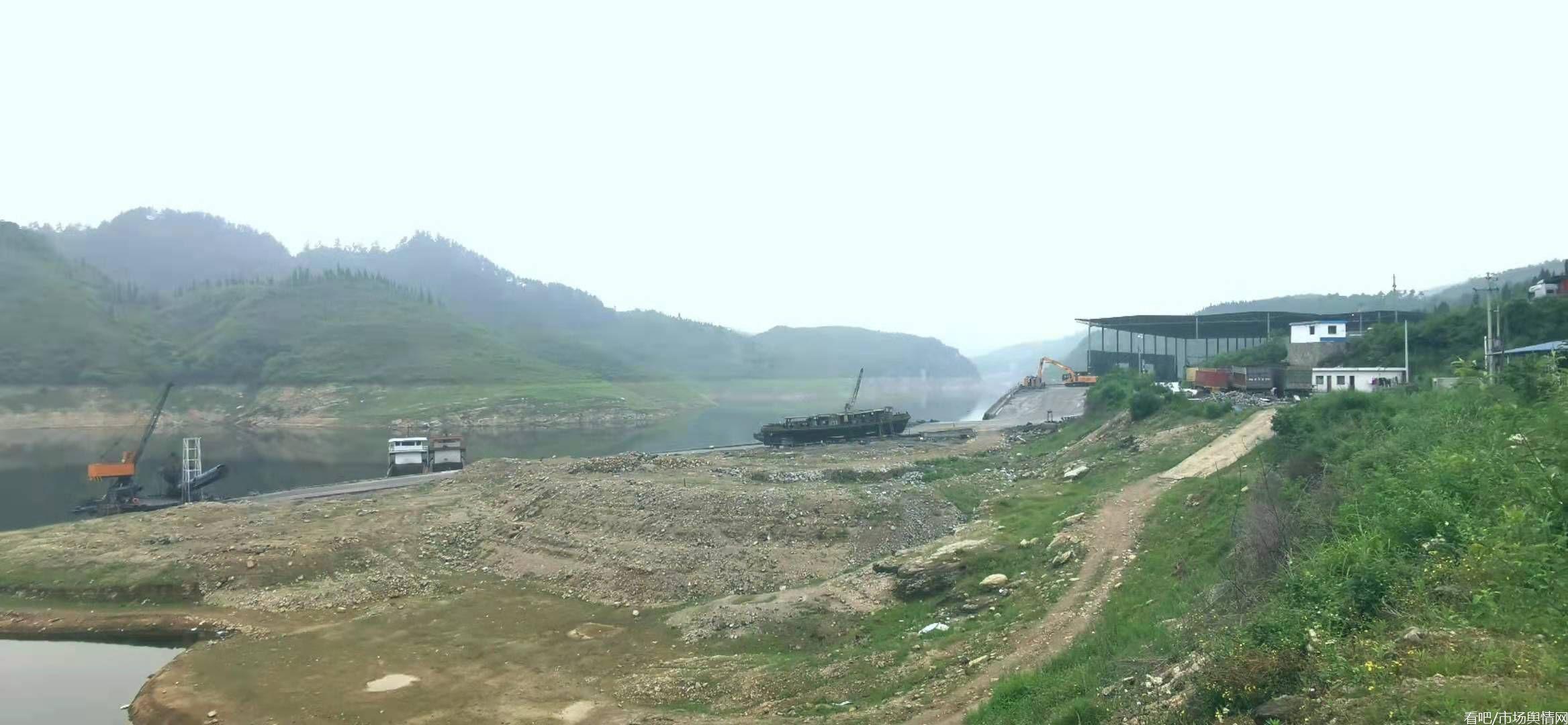 贵州息烽县一货运码头建设惹争议 当地村民反映多年无果